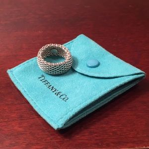 Tiffany & Co. Silver Somerset Mesh Ring